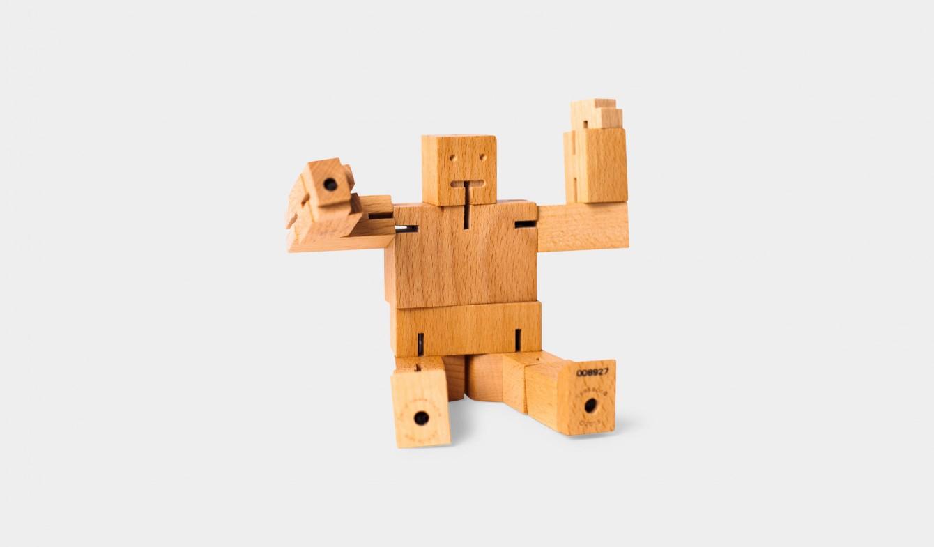 Wooden Robot