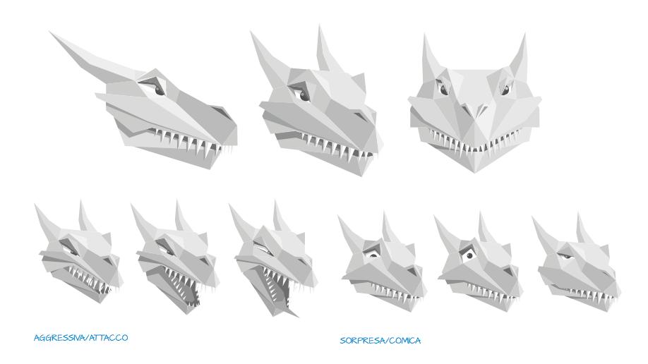 Character Design Drago